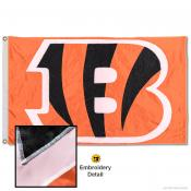 Cincinnati Bengals Embroidered Nylon Flag