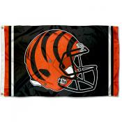 Cincinnati Bengals New Helmet Flag