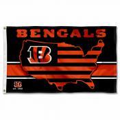 Cincinnati Bengals USA Country Flag