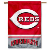 Cincinnati Reds Double Sided House Flag