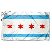City of Chicago 2x3 Flag