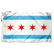 City of Chicago 2x3 Flag
