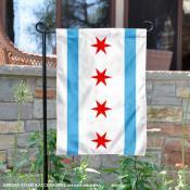 City of Chicago Garden Flag