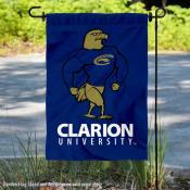 Clarion Golden Eagles Logo Garden Flag