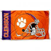 Clemson Football Flag