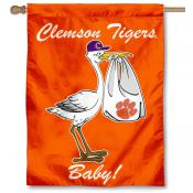 Clemson New Baby Flag