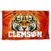 Clemson Tiger Eye Flag