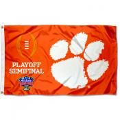 Clemson Tigers 2020 College Football Playoff Flag