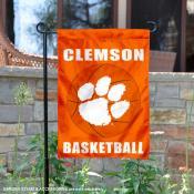 Clemson Tigers Basketball Garden Banner