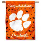 Clemson Tigers Congratulations Graduate Flag