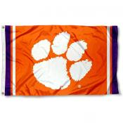 Clemson Tigers Jersey Stripes Flag