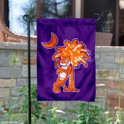Clemson Tigers Mascot and Palmetto Garden Flag