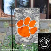Clemson Tigers Operation Hat Trick Garden Flag