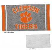 Clemson Tigers Workout Exercise Towel