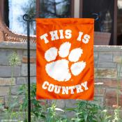 Clemson University Country Garden Flag