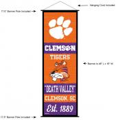 Clemson University Decor and Banner