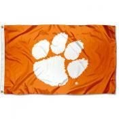 Clemson University Flag - Orange