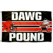Cleveland Browns Dawg Pound Flag