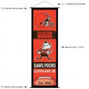 Cleveland Browns Decor and Banner
