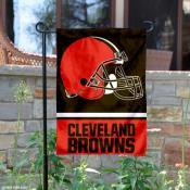 Cleveland Browns Garden Flag