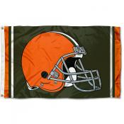 Cleveland Browns Logo Flag