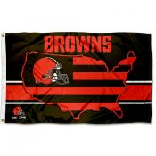Cleveland Browns USA Country Flag