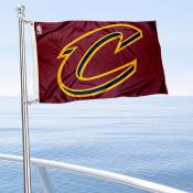 Cleveland Cavaliers Boat and Nautical Flag