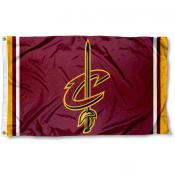 Cleveland Cavaliers C-Sword Logo Flag