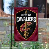 Cleveland Cavaliers New Shield Logo Double Sided Garden Flag