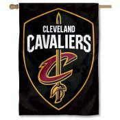 Cleveland Cavaliers Shield Logo Double Sided House Flag