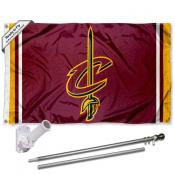 Cleveland Cavaliers Sword Flag Pole and Bracket Kit