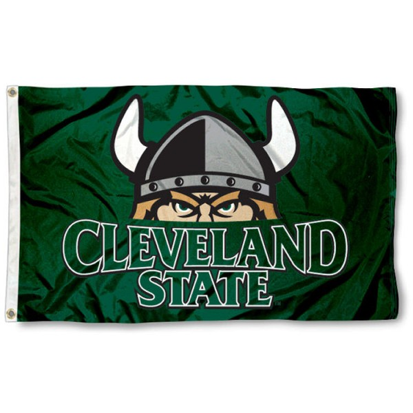 Cleveland State Vikings  Flag