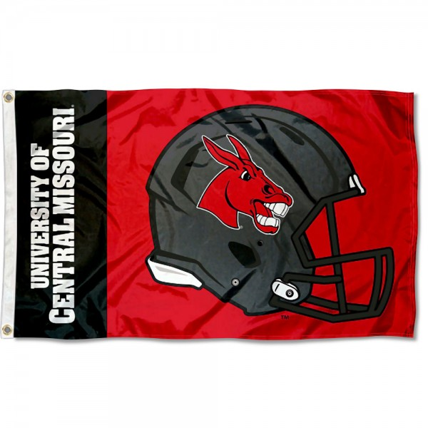 CMU Mules Football Helmet Flag measures 3x5 feet, is made of 100% polyester, offers quadruple stitched flyends, has two metal grommets, and offers screen printed NCAA team logos and insignias. Our CMU Mules Football Helmet Flag is officially licensed by the selected university and NCAA.