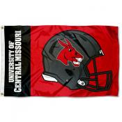 CMU Mules Football Helmet Flag