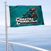Coastal Carolina Chanticleers Boat and Mini Flag