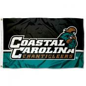 Coastal Carolina Chanticleers Dual Color Panels Flag