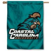 Coastal Carolina Chanticleers House Flag