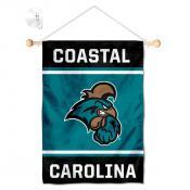 Coastal Carolina Chanticleers Window and Wall Banner