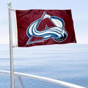 Colorado Avalanche Boat and Nautical Flag