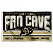 Colorado Buffaloes Fan Man Cave Game Room Banner Flag