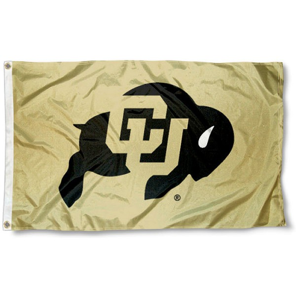 Colorado Buffs Flag measures 3'x5', is made of 100% poly, has quadruple stitched sewing, two metal grommets, and has double sided Colorado Buffs logos. Our Colorado Buffs Flag is officially licensed by the selected university and the NCAA