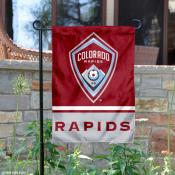 Colorado Rapids Garden Flag
