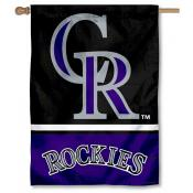 Colorado Rockies Double Sided House Flag