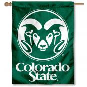 Colorado State CSU Rams Banner Flag