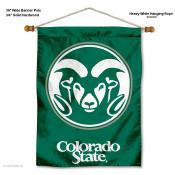 Colorado State Rams Wall Banner