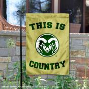 Colorado State University Country Garden Flag