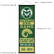 Colorado State University Decor and Banner