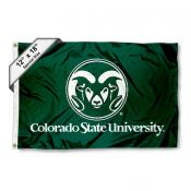 Colorado State University Mini Flag