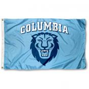 Columbia Lions Athletic Logo Flag