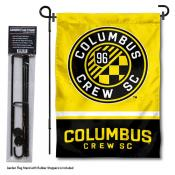 Columbus Crew Garden Flag and Flagpole Stand